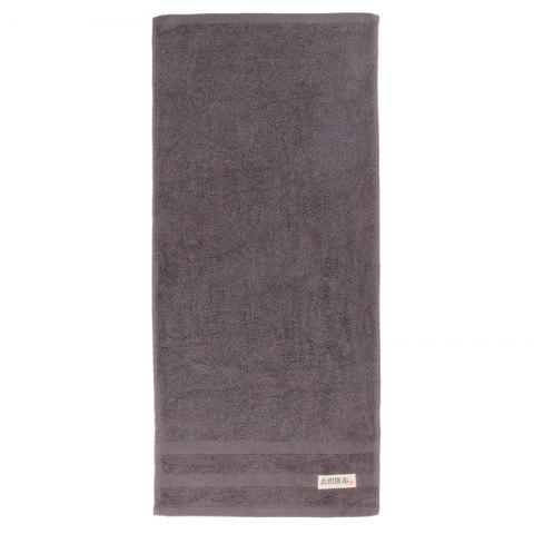 Cotton Strong Water Absorption Towel - GRAY 34*75CM