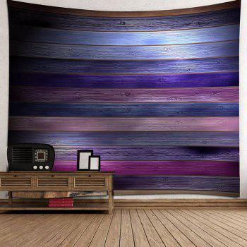 Coloured Plank Printed Tapestry Wall Art - COLORFUL W71 INCH * L71 INCH