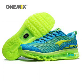 ONEMIX Outdoor Air Cushion Tie Up Running Shoes - SKY BLUE 39