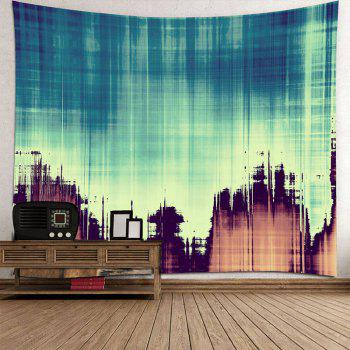 Fuzzy Shadow Printed Tapestry Wall Art - COLORFUL W79 INCH * L71 INCH