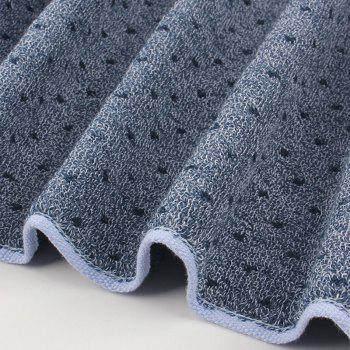 Cat Cotton Strong Water Absorption Towel - CADETBLUE 74*35CM