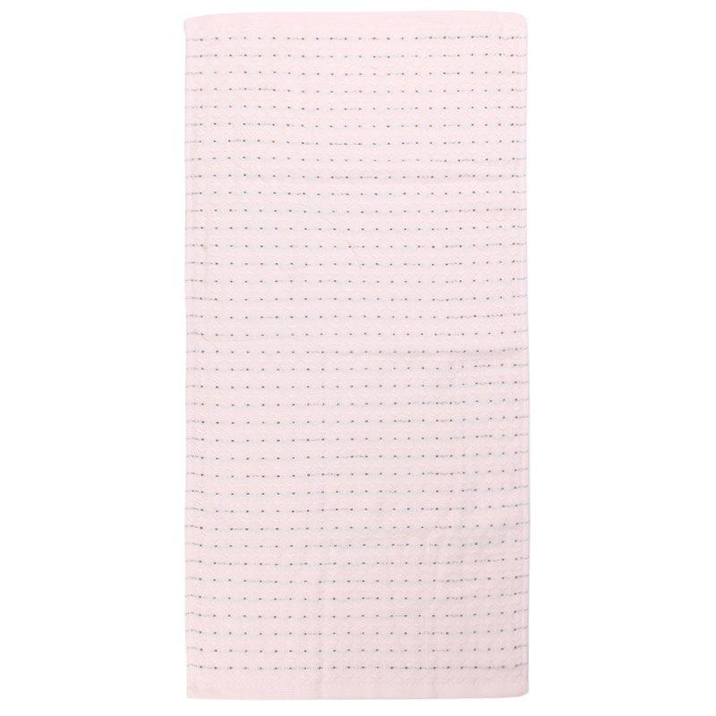 Serviette confortable de coton d'absorption d'eau forte - ROSE PÂLE 34*75CM