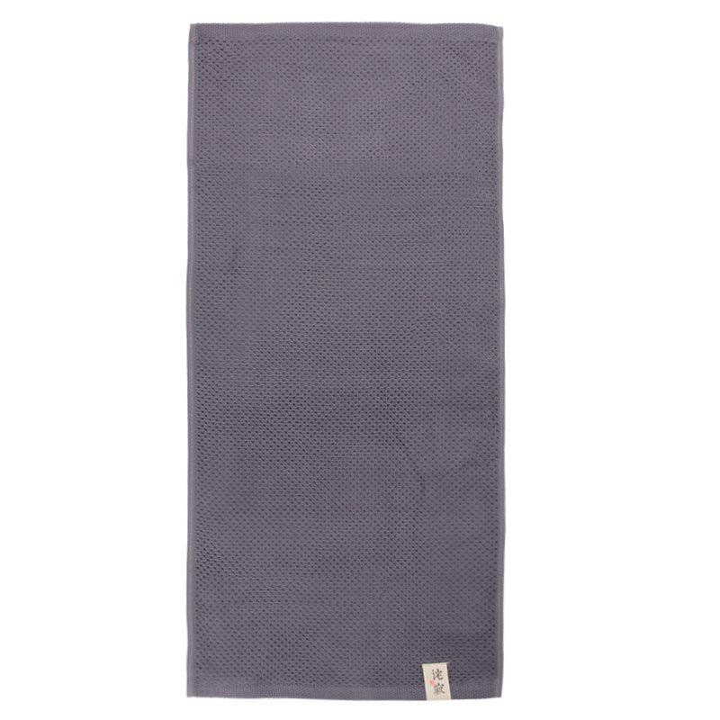 Cotton Soft Close Skin Towel - GRAY 34*75CM