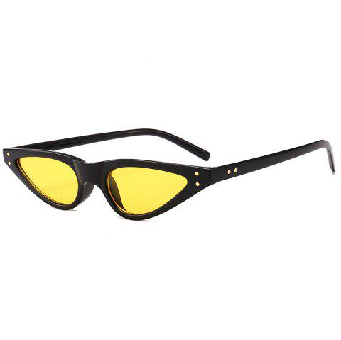 UV Protection Full Frame Sun Shades Sunglasses - YELLOW