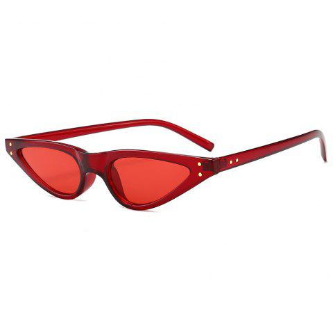 UV Protection Full Frame Sun Shades Sunglasses - RED