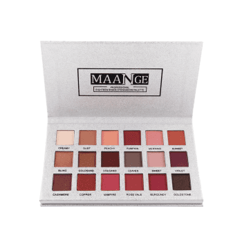 Professional 18 Colors Natural Colors  Eyeshadow Palette - COLORFUL