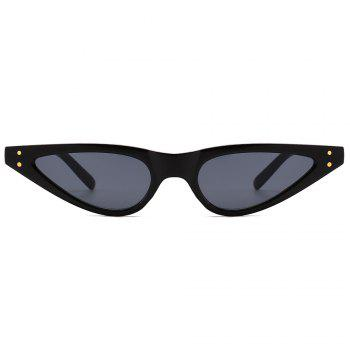UV Protection Full Frame Sun Shades Sunglasses - BRIGHT BLACK/GREY