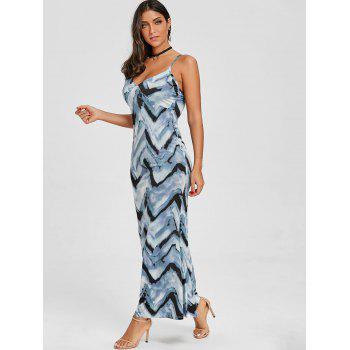 Cami Tie Dye Long Dress - CLOUDY S