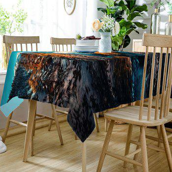 Natural Scenery Pattern Waterproof Table Cloth - COLORMIX W54 INCH * L54 INCH