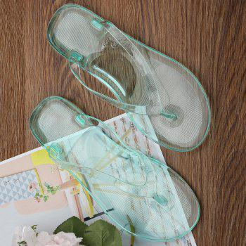 Tongs plates plates Summer Beach - Vert 38