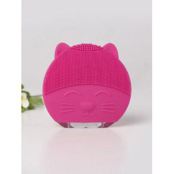 Mini Portable Ultrasonic Silicone Facial Cleanser Device - TUTTI FRUTTI