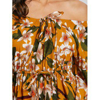 Imprimer Off The Swing Dress - Orange M