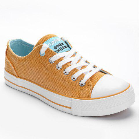 Casual Outing Sporty Sneakers - ORANGE 39