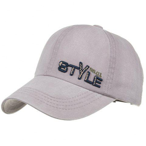 STYLE Embroidery Adjustable Graphic Hat - GRAY