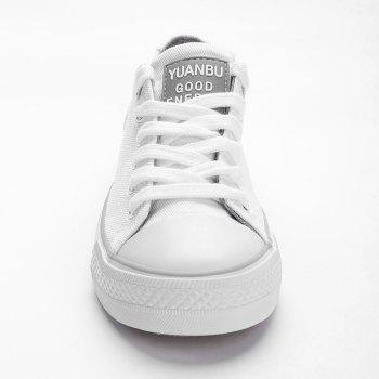 Casual Outing Sporty Sneakers - WHITE 39