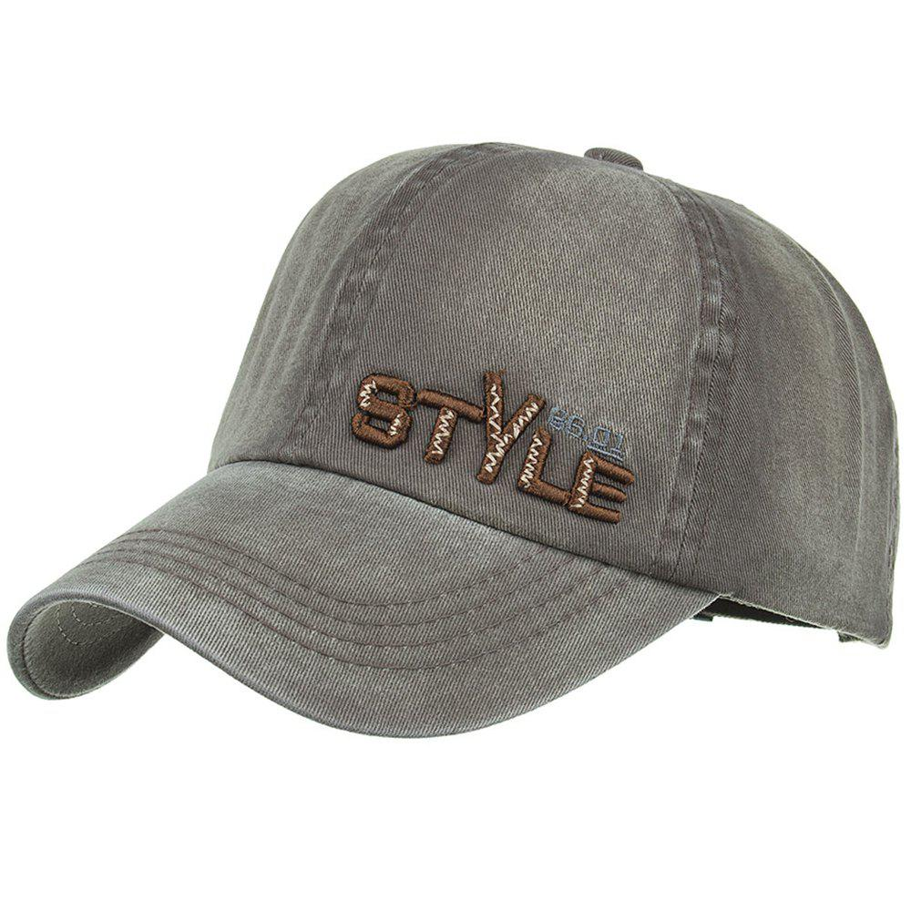 STYLE Embroidery Adjustable Graphic Hat - ARMY GREEN