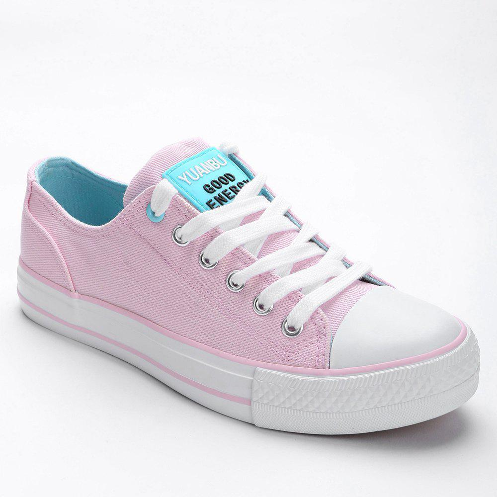 Casual Outing Sporty Sneakers - PINK 38