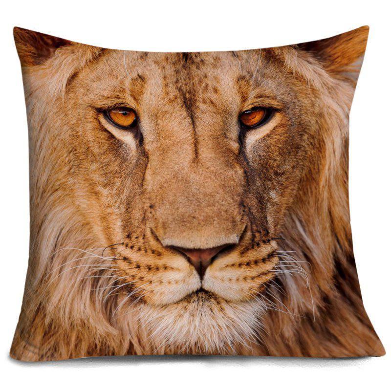 Lion Head 3D Printed Throw Pillow Case 256115301
