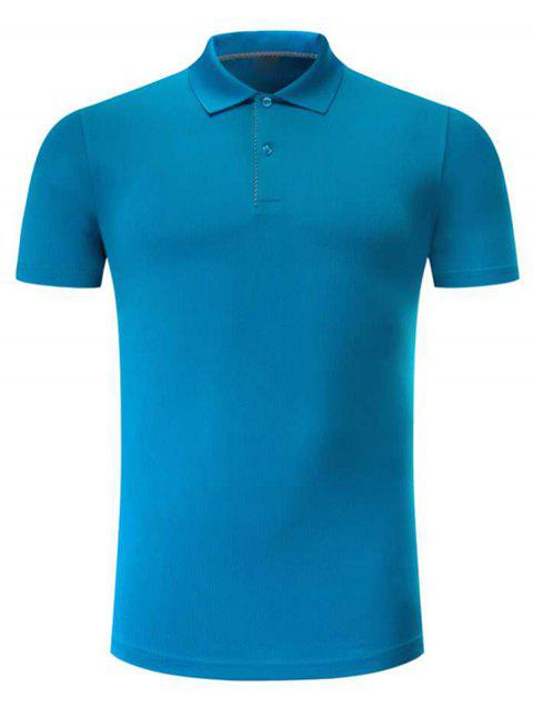 Classic Short Sleeves T-shirt - BLUE L