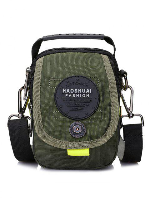 Multi Functional Crossbody Bag with Handle - ARMY GREEN