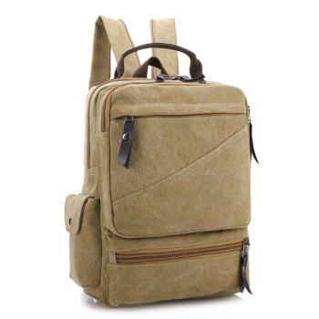 Outdoor Casual Backpack - KHAKI