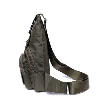 Outdoor Sport Sling Bag - ARMY GREEN