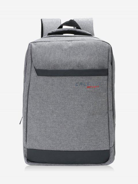 Top Handle Travel Backpack - DEEP GRAY