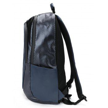 Casual Letter Travel Backpack - ROYAL