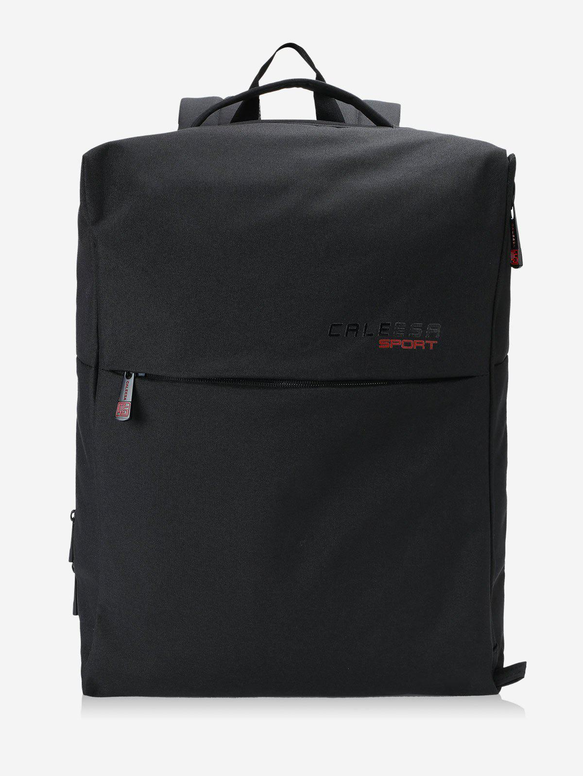Multi Functional School Backpack - BLACK