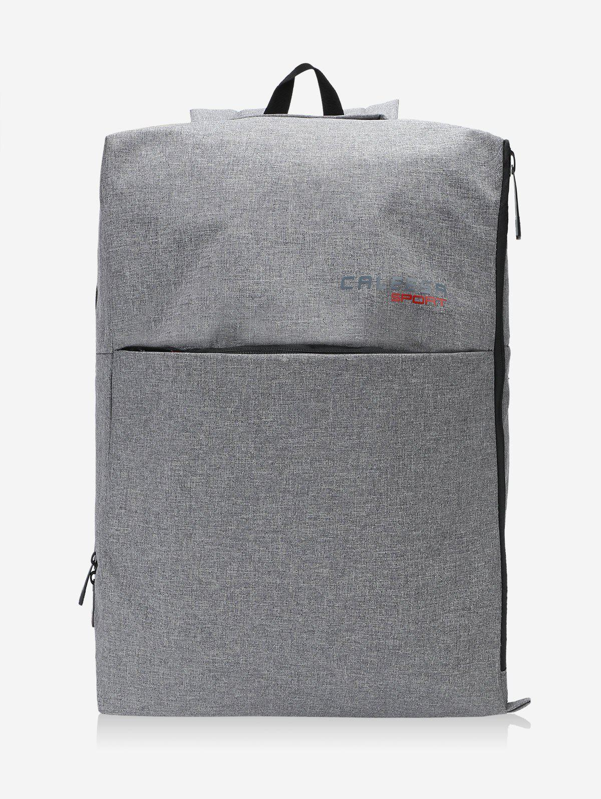 Multi Functional School Backpack - DEEP GRAY