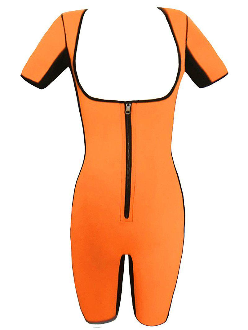 Body Amincissant Grande Taille - Orange 4XL