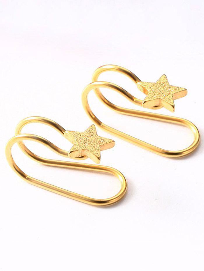 Simple Stainless Steel Star Ear Cuffs stels navigator 630 2015