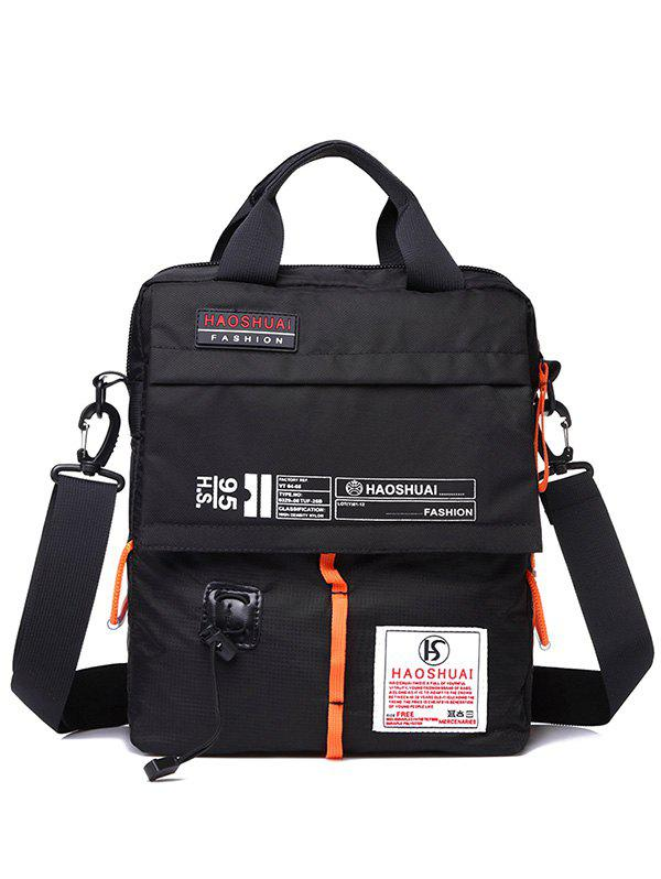 Sport Outdoor Sling Bag - BLACK
