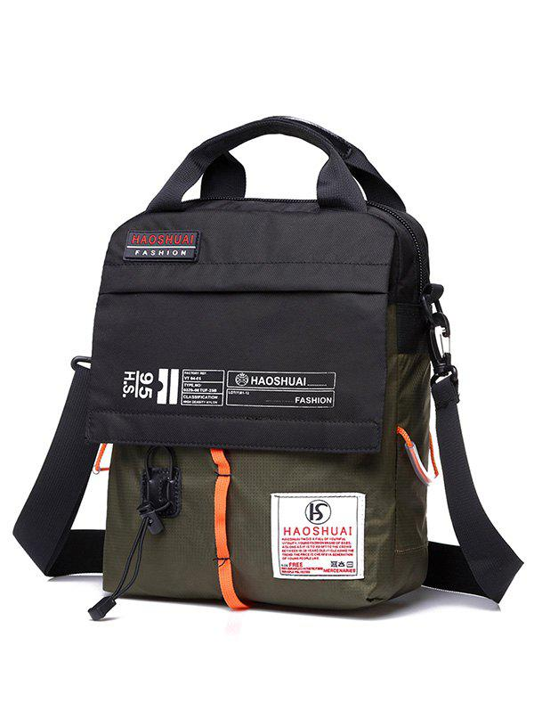 Sport Outdoor Sling Bag - BLACKISH GREEN