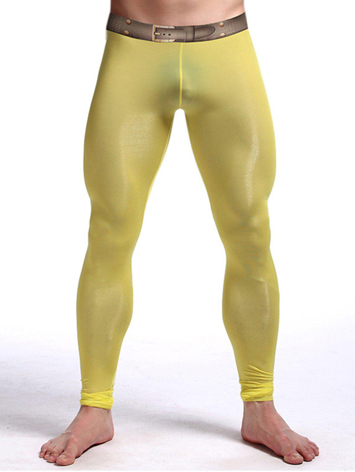Pantalon de Gym - Jaune XL