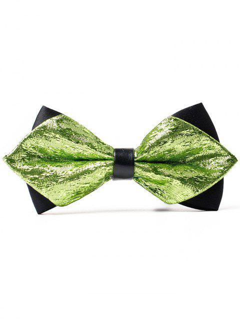 Unique Host Groomsmen Shimmer Bow Tie - LIGHT GREEN