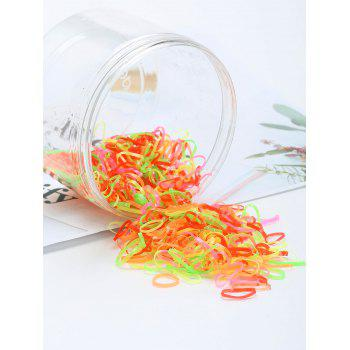 400 Pieces Elastic Hair Bands - PATTERN C