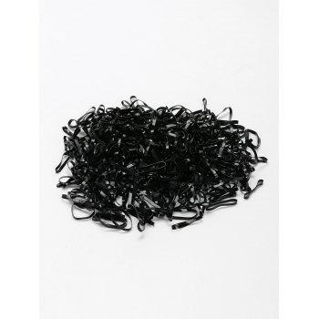 400 Pieces Elastic Hair Bands - PATTERN E
