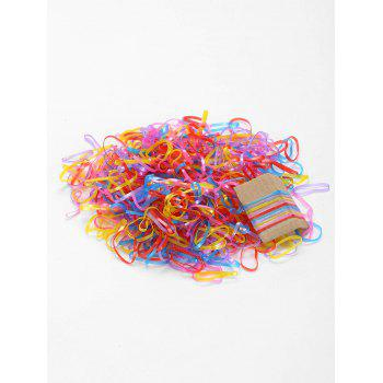 500 Pieces Elastic Hair Bands - PATTERN B