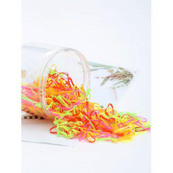 500 Pieces Elastic Hair Bands - PATTERN D