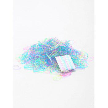 500 Pieces Elastic Hair Bands - PATTERN E