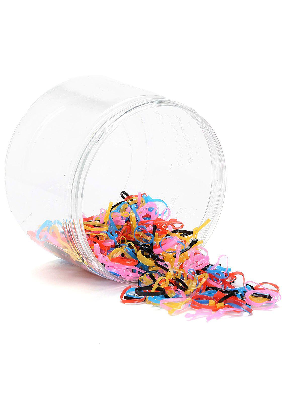 400 Pieces Elastic Hair Bands - PATTERN A