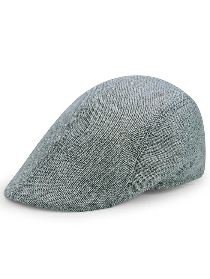 Simple Solid Color Breathable Duckbill Hat - ATLANTIS