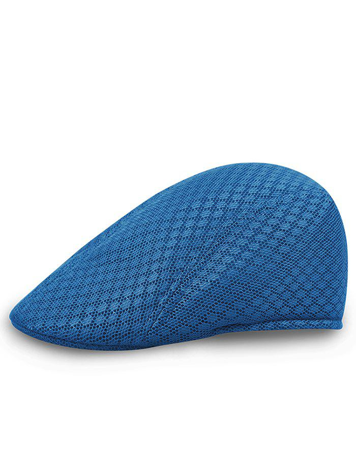 Simple Mesh Breathable Newsboy Hat