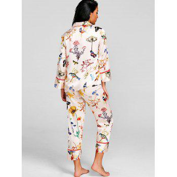 Butterfly Printed Sleep Suit - COLORMIX L
