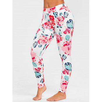 Flower Sleep Trousers - PINK L