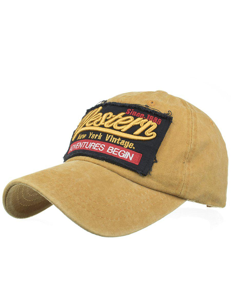 Letter Sentence Embroidery Washed Baseball Cap unisex men women m embroidery snapback hats hip hop adjustable baseball cap hat