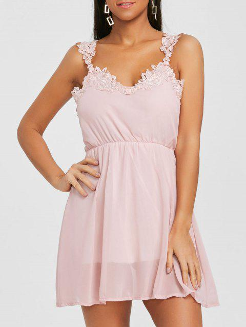 Chiffon a Line Dress