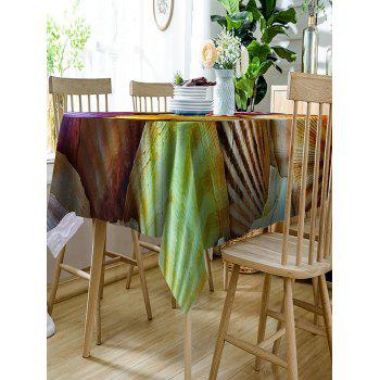 Waterproof Scallop Shell Print Fabric Table Cloth - COLORFUL W60 INCH * L84 INCH