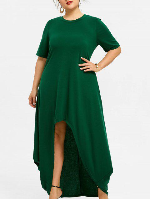 d10e67927b4 LIMITED OFFER  2019 Asymmetrical Plus Size High Low Dress In ...